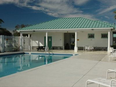 Bridgewater Crossing's great facilities include a full-size swimming pool.