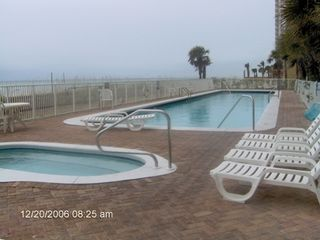 Twin Palms condo photo - Outdoor Pool and Hot Tub