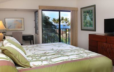 Elua 2502 Master Bedroom with an Ocean View