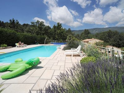Fayence villa rental - swimming pool