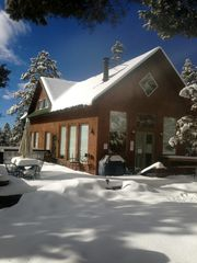 Taos house photo - A bluebird powder day at Las Posadas El Salto