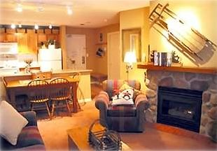 Living Room, with Gas Fireplace