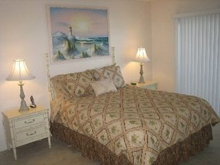 Cape Canaveral condo photo - Guest Bedroom 1 (Queen Bed)