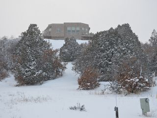 Pagosa Springs house photo - Snowy winter day.