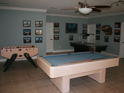 New game room.