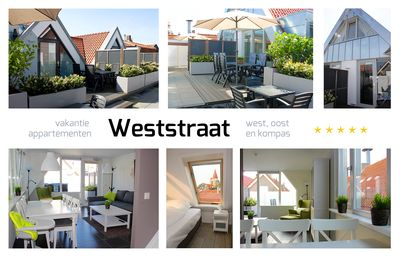 Holiday apartments on the Weststraat Ouddorp  - Ferien Apartment West in Ouddorp (Strand Meer See Zentrum)