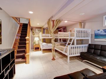 3rd bedroom !!!! 2 FULL/TWIN SIZE BEDS SLEEPS 6 GUESTS EASILY !!