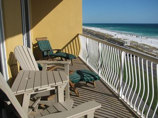 New Balcony Furniture For Relaxation - Beach Retreat Condos condo vacation rental photo