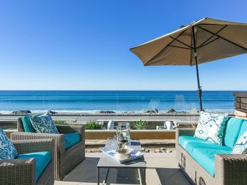 Oceanside villa rental - Stunning ocean front /beach front patio