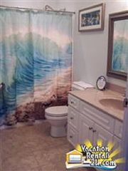 North Wildwood condo photo - Spacious Full Bath On 2nd Floor (tub/shower)