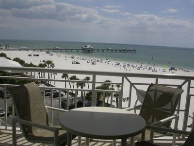 Clearwater Beach condo rental - Mandalay Beach Club (603) Balcony