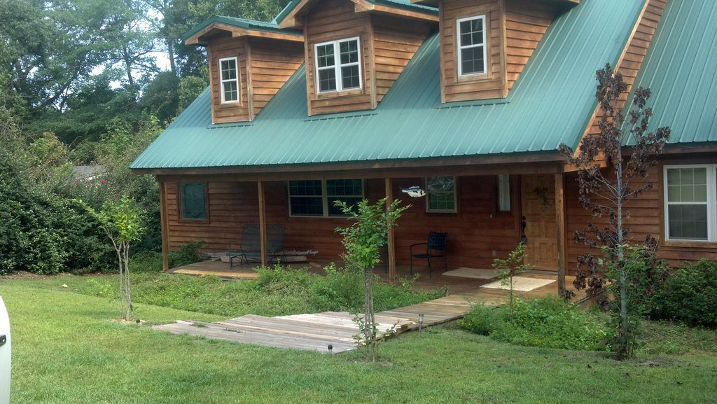 eufaula cabin rentals waterfront home on lake eufaula