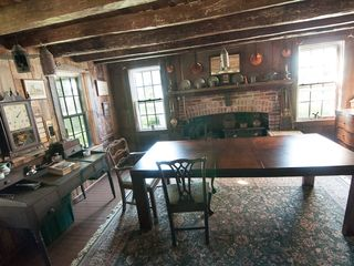 Cambridge house photo - Radcliffe-Travers Dining Room c.1663