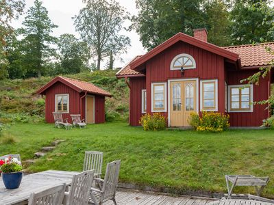 Holiday on a listed property at Helgasjön in Småland - Lake House 2338281