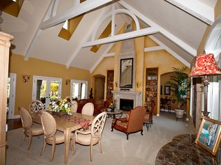 Windsor house photo - Fabulous Valted Ceilings and French Doors with view of pool/lake
