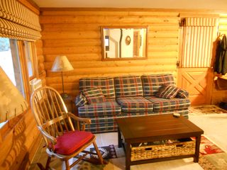 Blue River cabin photo - Living Room Area