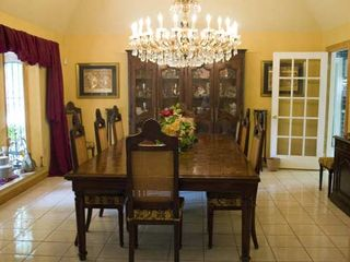 McAllen house photo - Dining room offers great atmosphere for romantic meal or family gathering.
