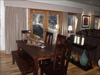 Beaver Creek house photo - Dining Area off the Living Room
