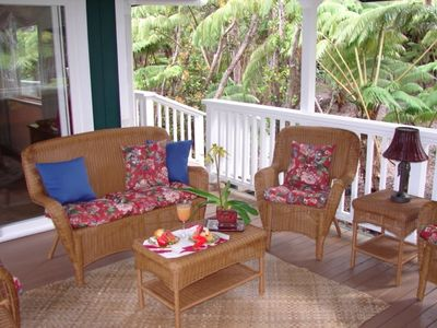 Privacy to Enjoy the Covered Lanai and Hot Tub
