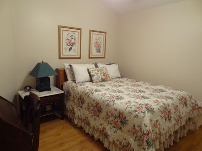 The Flower bedroom is a favorite room with our visitors!