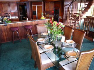 Napili estate photo - Casual or Formal Dining with Wonderful Views