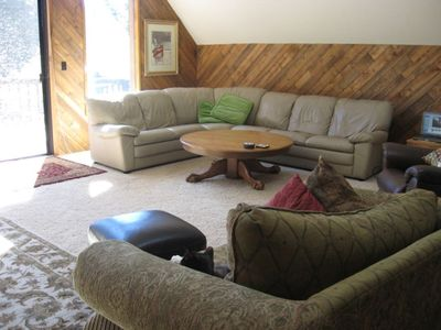 Incline Village cabin rental - Dana Ct., Lake Tahoe-Great Room