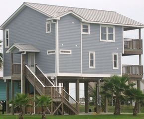 Galveston house photo - Side view of our Beach House