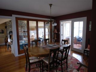 Deer Isle - Stonington house photo - Living Room - Dining Room - Sun Room