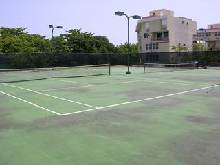 Vega Baja condo photo - Tennis courts.