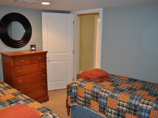Lake Harmony house photo - Bedroom #3: Two twin size beds.