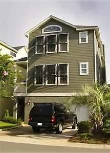 Isle of Palms house rental - Front overlooking Morgan's creek