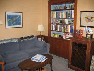 Falmouth house photo - Cozy den and reader's nook