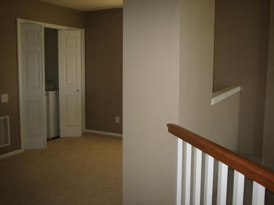 Fort Collins townhome rental - Loft area upstairs, new washer/dryer set in closet