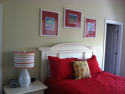 All Bedrooms are colorfully decorated.