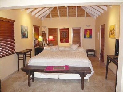 St Barthelemy villa rental - Bedroom