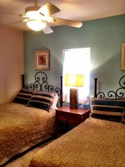 Puerto Penasco house photo - 3rd bedroom with 2 double beds lots of closet and drawers buit in.