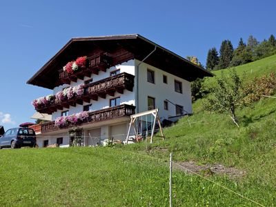 A spacious holiday home for large groups, between St. Johann and Wagrain.