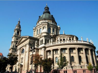 St Stephen's Basilica, 2 minutes walk from us