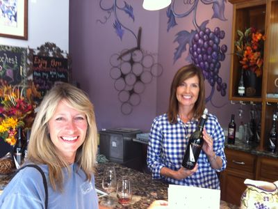 Wine tasting in nearby Grass Valley & Nevada City - See Linda of Lucchesi Wines