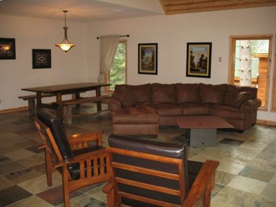 Great Room with Lots of comfortable furniture