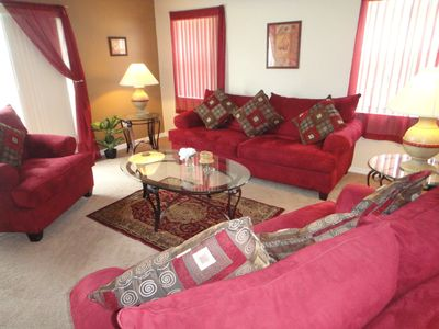 Davenport Lakes Estate villa rental - Cosy Family Lounge Area
