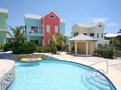 Cayman Calypso Villa -- Steps Away From a Beautiful 5-Tier Cascading Pool.