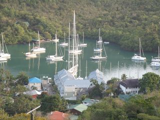 Marigot Bay villa photo - Overlooking Marigot Bay