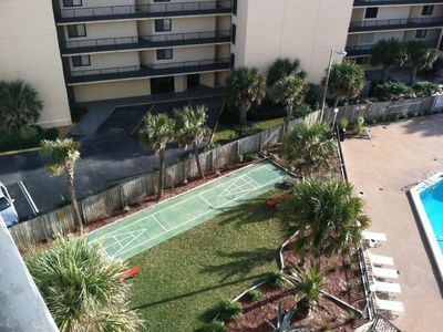 Top of the Gulf condo rental - Shuffle board anyone?