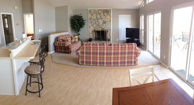 Panaromic photo of Living Room #1.