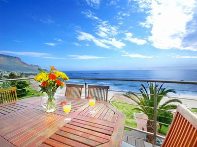 Camps Bay apartment rental - Best view of Camps Bay Beach