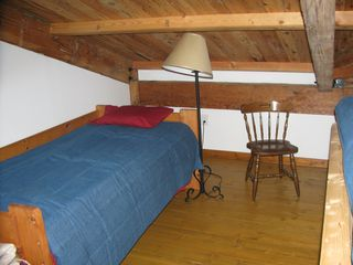 South Haven cottage photo - Additional single bed in loft for sleeping beside 2 full futons and 2 more sngls