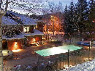 Steamboat Springs condo photo - Heated Pool & 2 Large Hot Tubs - Open Winter & Summer.
