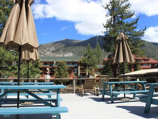 Heavenly Valley studio photo - Sun Deck and Picnic Area at the Stardust Tahoe