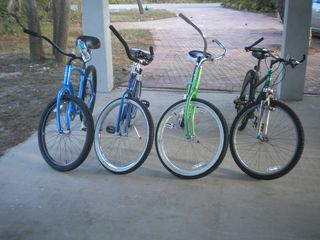 St George Island house photo - Four adult bikes for your riding pleasure